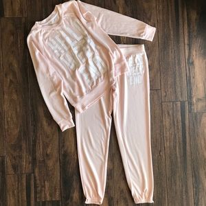 Hello Weekend Sweat + Jogger Set